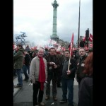 Les Guingampais à la Bastille